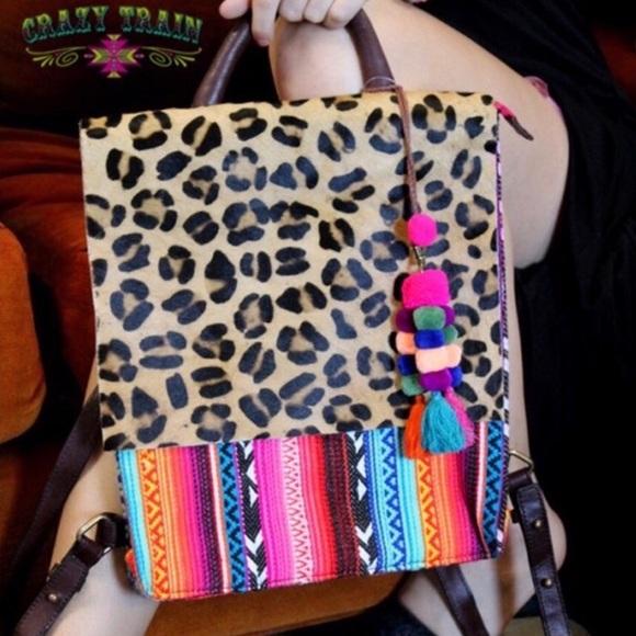 Crazy Train Bags   Bonita Backpack   Poshmark 11b45e7b2f